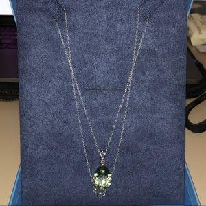 Jewelry - Green Prasiolite Sterling Silver Pendant 6.56ct